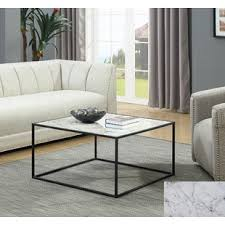 black marble coffee table black marble coffee tables you ll love wayfair