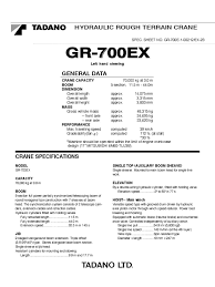 70t rt tadano gr 700ex load charts pdf transmission mechanics