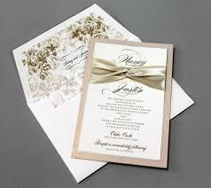 wedding invitations with ribbon marialonghi com