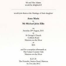 funny wedding invitation wording uk