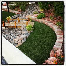 bridge and dry river bed landscape design pinterest bridge