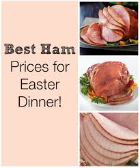 best prices on ham at grocery stores for easter