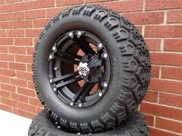 Wheel And Tire Package Deals Golf Cart Zone Of Austin Itp Ss212 Lifted Tire And Wheel Combo
