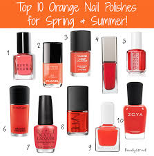 top 10 nail polishes for spring and summer seasons an and