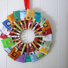 gift ideas for kitchen tea how to make a tea wreath