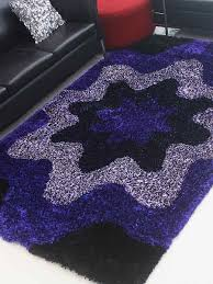 Navy White Area Rug Buy Hand Tufted Shaggy Polyester Navy White Area Rug K00040 Online