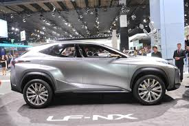 lexus nx hybrid release date lexus sharpens up frankfurt motor show with lf nx crossover