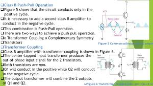 Transformer Coupled Transistor Amplifier Schematic Analog Electronics Subject Code B E 3rd Semester Ppt Download