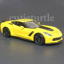 yellow corvette c7 maisto 2015 chevrolet corvette stingray c7 z06 1 24 diecast model