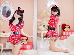 Minnie Mouse Costume Lady Women Minnie Mouse Halloween Costume Fashion Headband