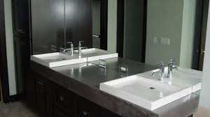 Bathroom Vanity Counters Brilliant Bathroom Vanity Concrete Designs For Vanities Counters