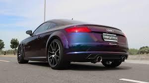 audi tt colors color shifting audi tt mk3 8s 2 0t w armytrix valvetronic exhaust