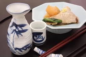 saké de cuisine japanese sake with simmered japanese amberjack and white radish