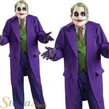 Dark Link Halloween Costume Mens Deluxe Joker Costume Dark Knight Batman Fancy Dress