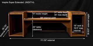 Studio Recording Desks by Hsa Rolltops Insxt Ii Inspire Super Extended Rolltop Desk