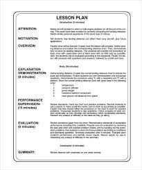 lesson plan template swimming lesson plan outline sle lesson plan outline template pdf