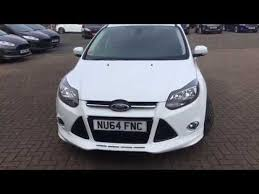 used ford focus tdci used ford focus 1 6 tdci 115 zetec s 5dr frozen white 2014