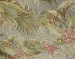 Tropical Upholstery Tropical Floral Etsy Studio
