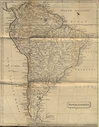 Map Of North And South America by Map Of South America The History Of North And South America By