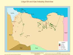 Map Of Benghazi Opec Member Libya