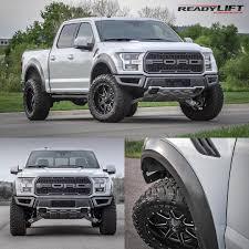 Ford Raptor Leveling Kit - readylift leveling ford on instagram