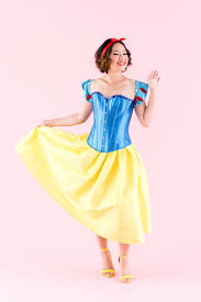 Snow White Halloween Costume Adults Diy Snow White Halloween Costume Brit