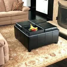 fabric storage cube ottoman fantastic fabric storage ottoman with tray coffee table ottoman
