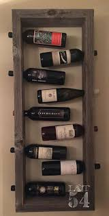 wine rack hanging wine rack wall daccor cedar wine racks kit diy