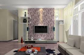 Design For Tv Cabinet Tv Unit Design For Living Room With Wallpaper Home Combo