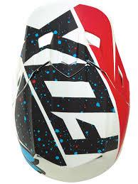 motocross helmet design fox red white 2017 v2 nirv mx helmet fox freestylextreme