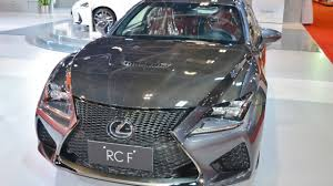 lexus top sports car india bound lexus rc coupe in the top end f variant showcased at