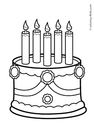 cake birthday pcake birthday party coloring pages for 2 years