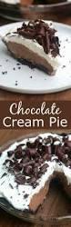 chocolate cream pie tastes better from scratch