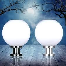 Outdoor Globe Light Globe L Posts Buy Outdoor Globe Post Lighting Acrylic