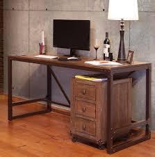 Desk With File Cabinet Rustic Casual Desk File Cabinet Sam Levitz Furniture