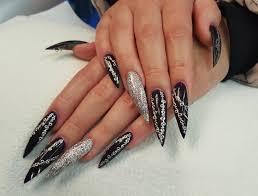 41 stiletto nail art designs ideas design trends premium psd