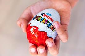 kinder suprise egg child with kinder egg editorial stock image image of