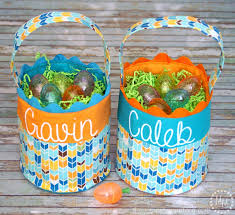 inexpensive easter baskets a glimpse inside mhct m creative diy easter baskets