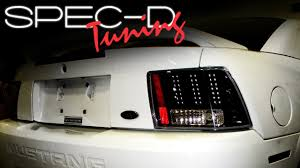 2004 mustang sequential lights specdtuning installation 1999 2004 ford mustang led