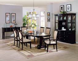 black dining room table set dining room ideas classic black dining room set design ideas