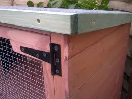 5ft flat roof double rabbit guinea pig hutch