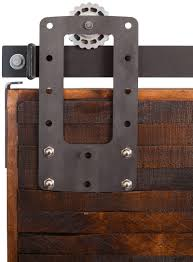 Bi Parting Barn Door Hardware by Bootstrap Barn Door Hardware Rustica Hardware