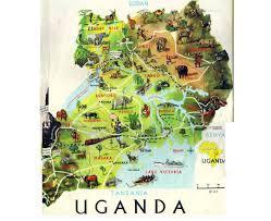 Eso Maps Maps Of Uganda Detailed Map Of Uganda In English Tourist Map