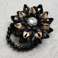 and black corsage wrist corsage flower corsage bracelet black corsage flower