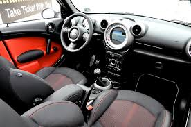 Interior Mini Cooper Countryman Mf Garage Mini Countryman Cooper S End Of Term Motoringfile