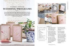 magazine wedding programs do it yourself projects and handmade ideas new modern wedding diy