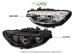 Bmw M3 Blacked Out - oneighty presents blk out m3 m4 led headlights