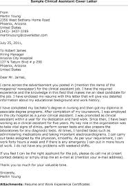 9 best images of research assistant cover letter clinical