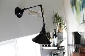 Swing Arm Lamps Wall Mount Plug In Swing Arm Lamps Lamps Shades The Home Depot Swing Arm Wall Lamp