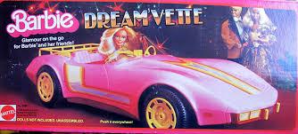 barbie corvette vintage amazon com barbie dream u0027 vette corvette convertible vehicle w
